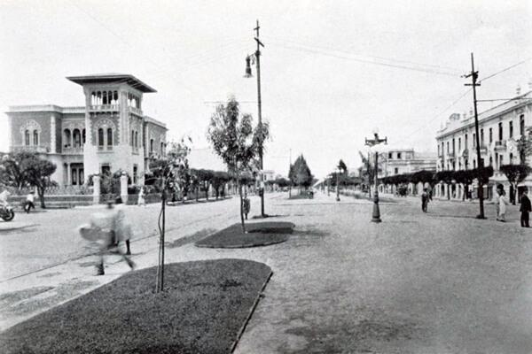 Foto antigua colonia Roma