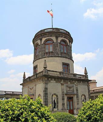 Torre del castillo de chapultepec