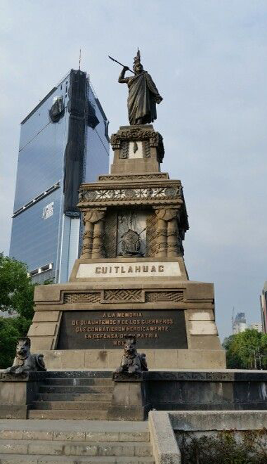 Monumento a Cuauhtémoc en reforma
