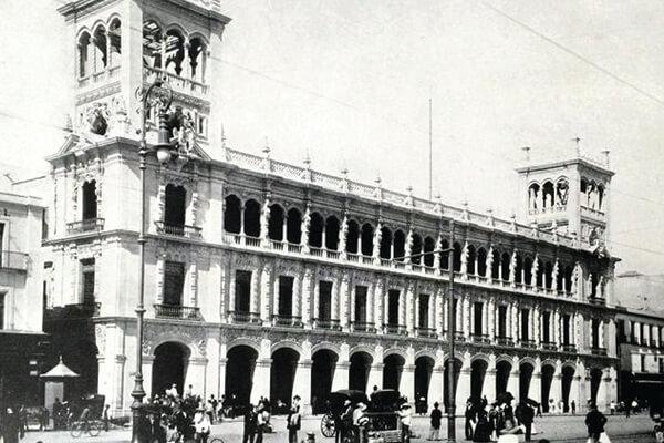 Centro Historico en la antigüedad