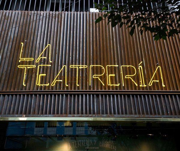 Teatros en la colonia Roma