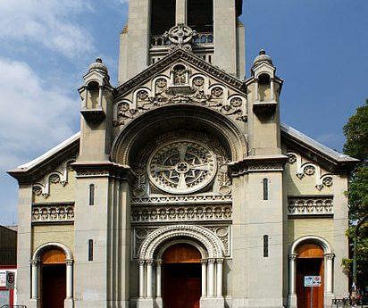 caminatas paseos que hacer colonia roma parroquia sagrada familia