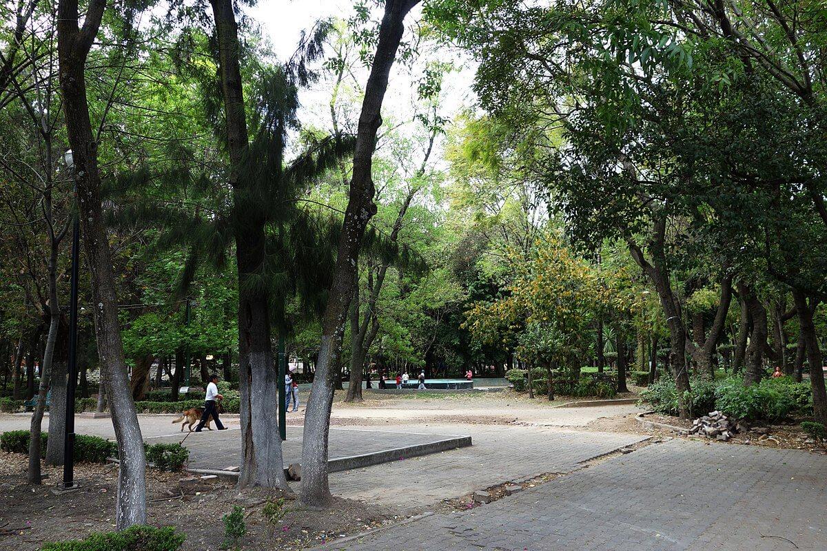 mejores parques jardines plazas roma condesa Jardin_Ramon Lopez_Velarde