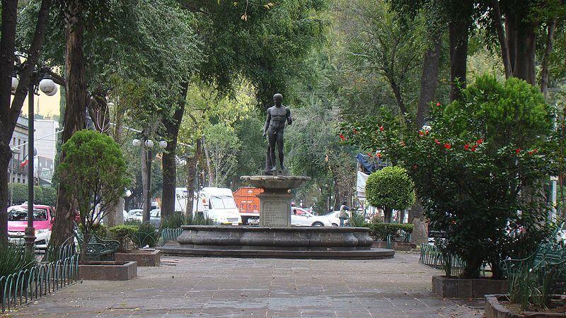 mejores parques plazas jardines roma condesa parque espana